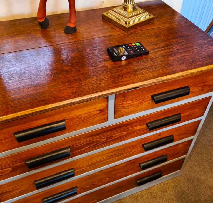 Large Printers Chest of Drawers