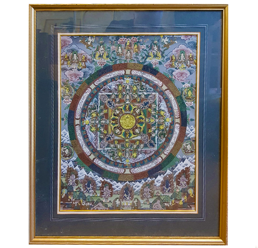 Chinese Round Tapestry (SOLD)