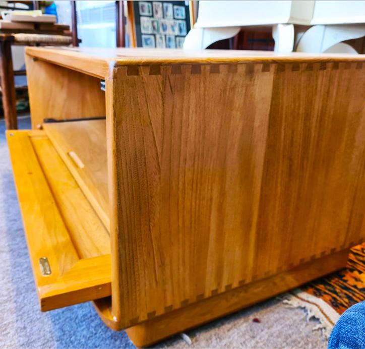 Ercol Blonde TV Cabinet