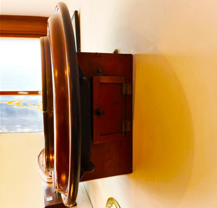 Antique Fusee Wall Clock Ashford