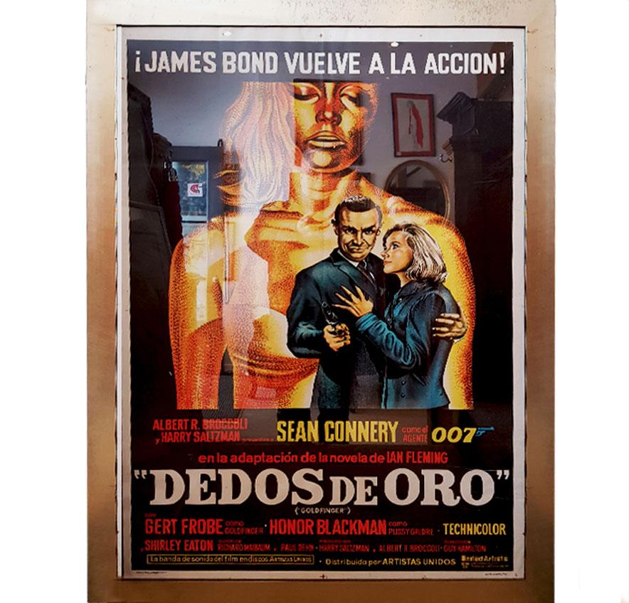 James Bond Poster (SOLD)
